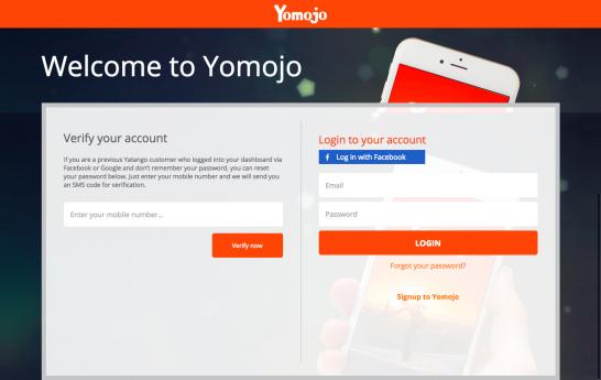 yomojo login