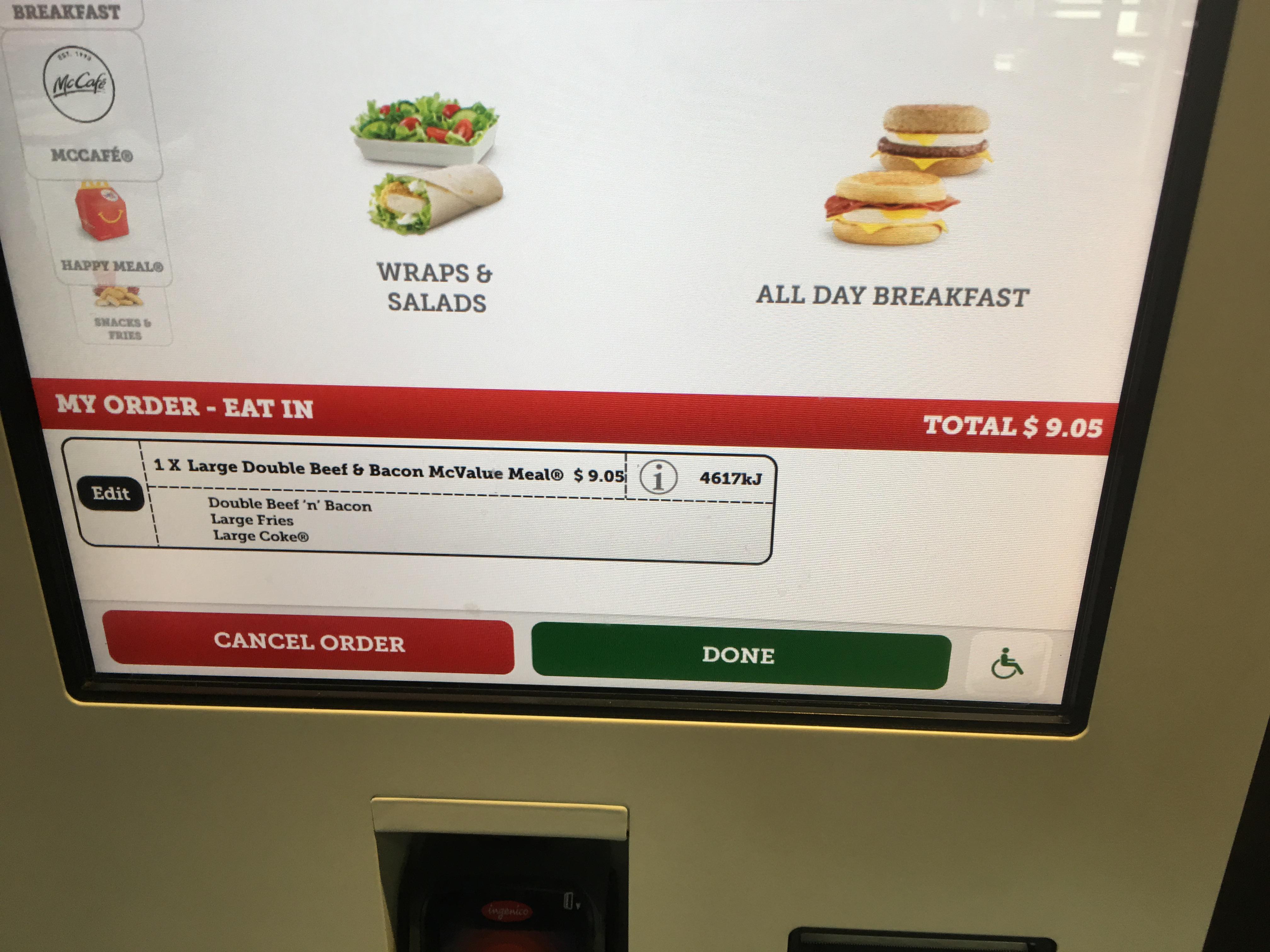 オーストラリア マクドナルド