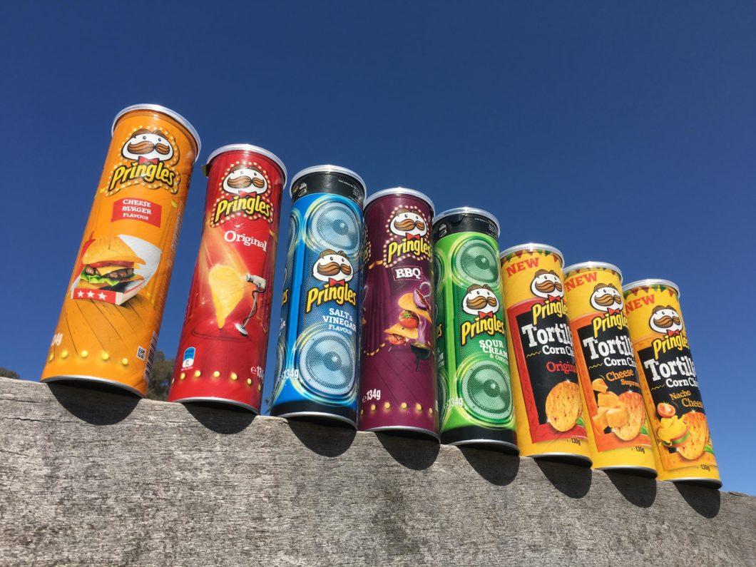 オーストラリア ポテトチップス プリングルズ Pringles
