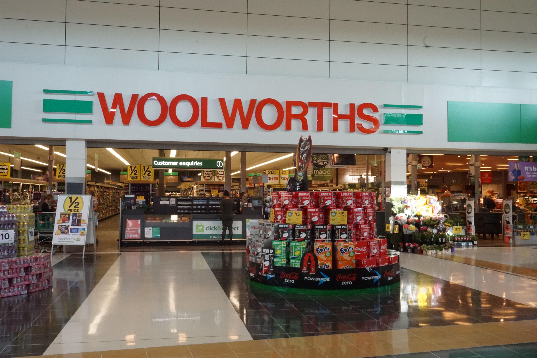 オーストラリア スーパー woolworths