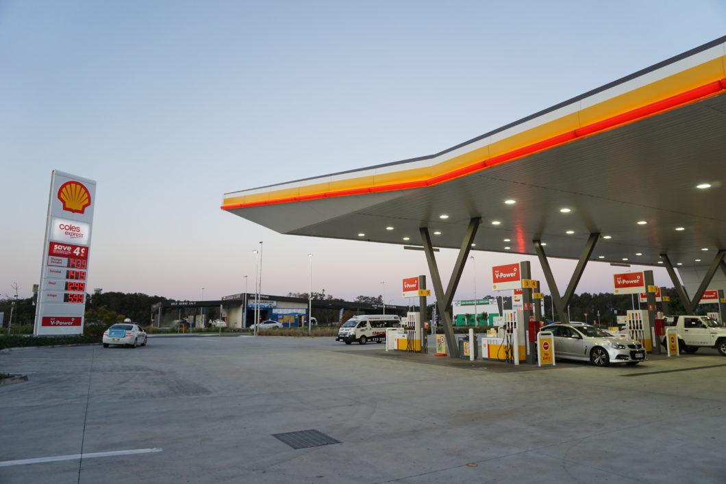 オーストラリア ガソリンスタンド
